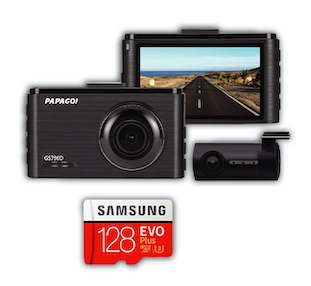 PAPAGO Gosafe 790D Car Camera