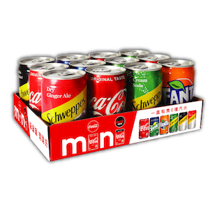 Mini Can Assorted Pack