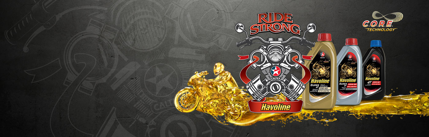 New Range of Caltex Havoline Motorcycle Engine Oils