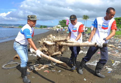Coastal clean up and pawikan (turtle) protector awareness trainings