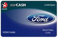 Caltex StarCash Co-brand Ford