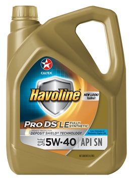 Havoline® ProDS Fully Synthetic LE SAE 5W-40