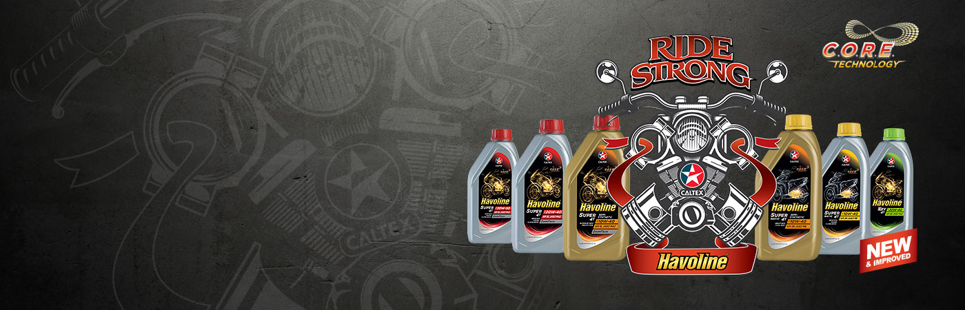 New Range of Caltex Havoline Motorcycle and Scooter Engine Oils