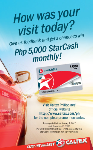 gas station ads caltex philippines quality fuel products clea caltex philippines
