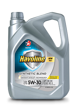 Havoline® Synthetic Blend SAE 5W-30   Caltex Philippines