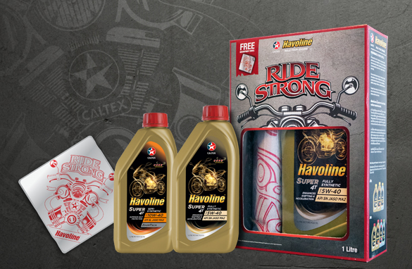 Havoline® Ride Strong  Promotional Pack