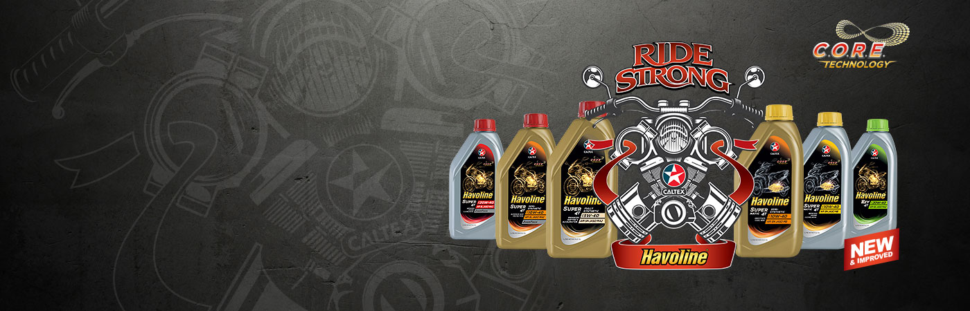 New motorcycle oils