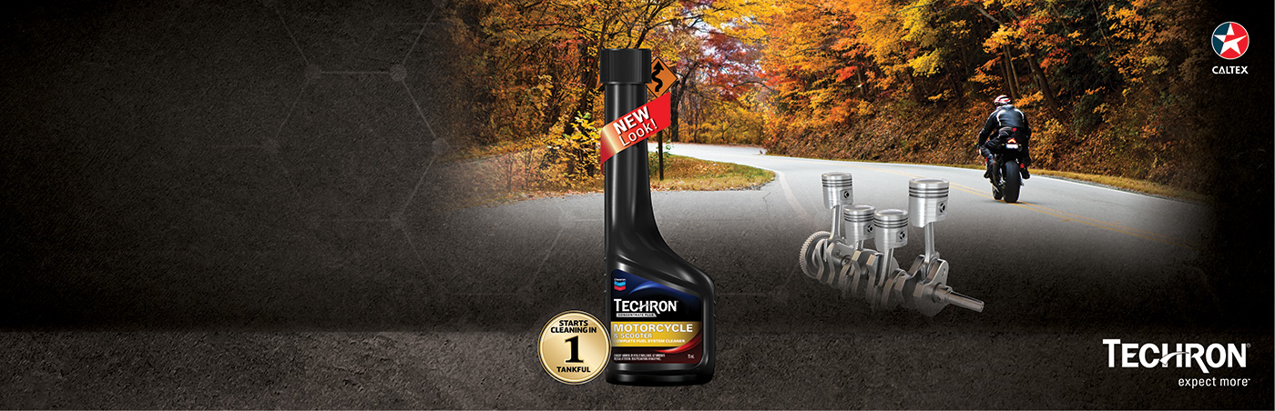 Techron® Concentrate Plus for Motorcycles