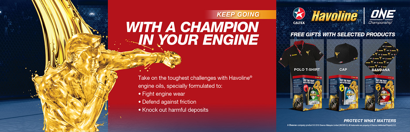 Caltex Havoline Promotion
