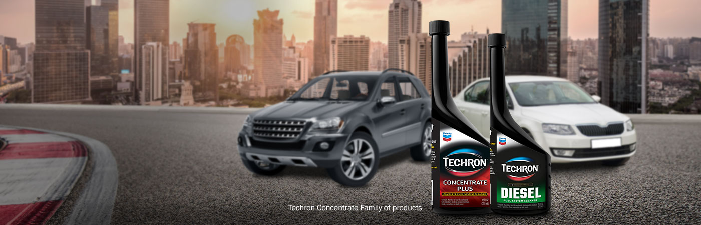 Techron Concentrate Family of Products - Caltex Singapore